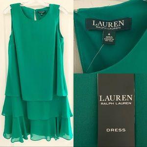 Lauren Ralph Lauren Green Dress